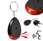 Wireless Whistle Voice Control Keychain Sound Light Anti-Lost Key Finder Alarm