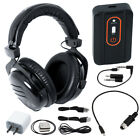 Quest Wirefree Pro Wireless Bluetooth Headphones & Whites MX Sport Audio Adapter