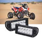 """2x 36W LED Work Light Bar for Honda TRX 450R 700XX ATV UTV 7 inch 8"""" Golf Cart"""