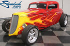 1933 Ford 3 Window Coupe  LICK-BUILT STREETROD, 350 V8, AUTO, PWR FRNT DISC/STEER, COILOVERS, R134A A/C!!