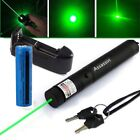 30Miles US Military Green Laser Pen 5mw 532nm Poewrful Pointer Pen+Batt+Charger