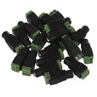 20pcs Camera DC Power Cable 2.1x5.5mm Female Plug Connector Adapter Jack