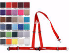"OFF ROAD SEAT BELT 3 PT SNAP RACING 2"" Y HARNESS FLAME RED 30 COLORS TO CHOOSE"