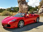 2007 Ferrari 430 Red/Tan 2007 Ferrari F430 Spider - Red/Tan - 6,600 Miles - MANUAL TRANSMISSON