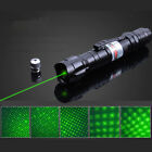 10 Miles Military Green Laser Pointer Pen Light Beam Visible Burn Focus Zoomable