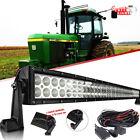 "40"" 42"" LED Combo Light Bar Curved For John Deere 9400 9500 9600 Tractor 2355"