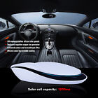 Car Home Solar Power Air Purifier Smell Dust Cleaner Intelligent Car Charger Set