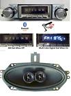 1967-68 Impala Bel Air Bluetooth Stereo Radio + Speaker Color Display NO AC 740