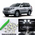 White 15pcs Interior LED Light Kit for 09-14 Toyota Land Cruiser + Free Tool
