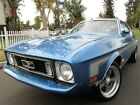1973 Ford Mustang 351 V8 H Code, Only 64724 Original Miles,One Owner 1973 Ford Mustang 351 V8  H Code,   Only 64724 Original Miles,  One Owner