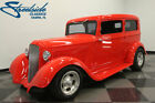 1933 Plymouth 2 Door Touring Sedan  HOW QUALITY '33 PLYMOUTH, STEEL BODY, 350 V8, AUTO, PS, COLD R134 AC, DISCS!