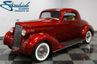 1937 Packard 115 Business Coupe Restomod FULLY RESTORED, 350 V8, 700R4 AUTO, PWR STEER & BRAKE, PLUSH AND MODERN, NICE!!
