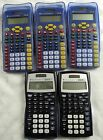 5 Texas Instruments Calculators - (2) TI-30X IIS & (3) TI-15