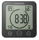Newest Version KADAMS Digital Clock Timer with Alarm Waterproof for Water Spr...