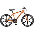 """24"""" Boys Mongoose Alert Mag Wheel Bike, Orange""Sports Outdoor Mountain Speed"