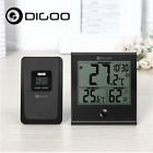 Digoo DG-TH1180 Home Comfort Indoor and Outdoor Sensor Glass Panel Thermometer