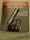 NEW! Red Laser Pointer with LED Flashlight Combo Super Bright BUY 3 GET 1 FREE!