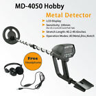 MD-4050 LCD Ground Search Metal detector Gold Coin Find Hunt Machine + Headphone