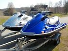 PAIR OF 2012 YAMAHA VX DELUXE CRUISER WAVERUNNERS WITH TRITON DOUBLE TRAILER !!