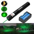 50Miles Assassin 532nm Green Lazer Pen Laser Pointer Visible Beam+Batt+Charger
