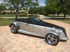 2000 Plymouth Prowler 2dr Roadster PROWLER 2 DOOR CONVERTABLE BLACK TIE PAINT CUSTOM FRONT END