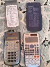 Lot Of Two Scientific Calculators TI 36x Solar And Casio fx-115es