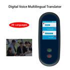 "Smart Digital Voice Multilingual Translator 2.4"" Touch Screen Interpreter Black"