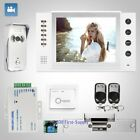 """HOMSECUR 8"""" Wired Hands-free Video&Audio Smart Doorbell with Silver Camera 1C1M"""