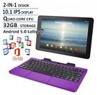 RCA Viking Pro Flagship Purple Edition 10.1 Touchscreen 2 In 1  Laptop, Detachab