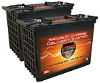 QTY 2 XTR155 12V 155AH EA BOAT MARINE RV BATTERY DEEP CYCLE VMAX AGM HI PERFORM