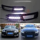 Daytime Running Lights DRL Fog/Driving Light For Audi A6 A6L 2009-11 Turn Signal