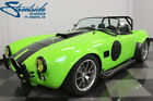 Shelby Cobra Replica LONESTAR BUILD, SINISTER W/ THE MECHANICALS TO BACK IT UP! 351C V8, TREMEC 5-SPD