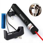4mw 650nm Red Laser Pointer Pen Bright Visible Beam+Battery+Universal Charger US