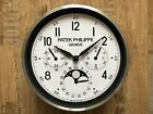 NEW PATEK PHILIPPE DEALER SHOWROOM WALL CLOCK LIMITED EDITION