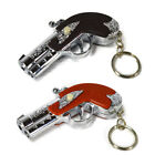 Kids 2in1 Laser Light Pointer Gun LED Light Touch Light & Key Chain Ring Hold UK