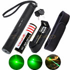 Military Green 5mw Laser Pointer Pen 532nm Burning Light Visible Beam Zoom Lazer
