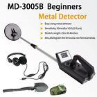 MD-3005B Deep Sensitive Metal Detector Search Gold Hunter w/ Headphone & Shovel