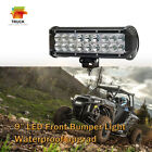 """9""""Inch LED Front Light Bar Driving Lamp For ATV Polaris RZR XP1000 900 4WD Ford"""