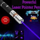 10 Miles 1MW  Blue Purple Laser Lazer Pointer Pen High Power Professional 532nm