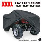 XXXL Black ATV Quad Bike Cover For Yamaha Raptor Grizzly Bruin Kodiak Big Bear