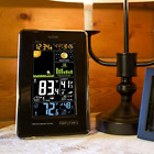 Wireless Color Weather Station Indoor wireless outdoor temperature  humidity