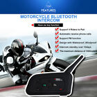 V4 1200M BT Bluetooth Interphone Motorcycle Helmet Intercom headset 4 Riders