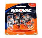 Rayovac Size 13 Hearing Aid Battery 24 Pack- 436JK