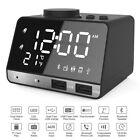 Hetyre 4.2 Inch Alarm Clock Radio, Bluetooth Speaker with Dual Snooze Clock USB