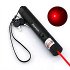 Rechargeable 10 Miles Red Laser Pointer Pen 650nm Visible Beam Pet Toy 4mW  Mini