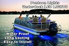 18-20' PONTOON BOAT UNDER DECK LED LIGHTS   INCLUDES HARNESS & MOUNTING TRACK