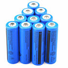 10X 3.7V 3000mAH Rechargeable Li-ion Blue18650 Battery for Portable Power Device