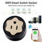 US Plug Socket Phone App Control Smart Power Socket Timing Switch WiFi Plug