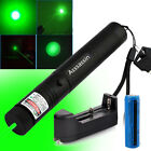 532nm Green Laser Pointer Pen 30Miles Sinlge Laser Beam 18650 Battery+Charger