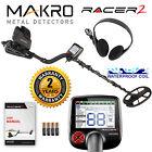 """Makro Racer 2 Metal Detector Standard Package with 11"""" x 7"""" Waterproof Coil"""